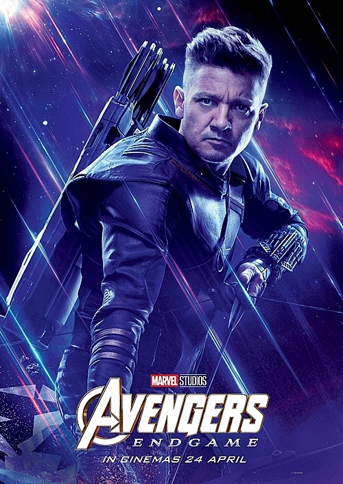 Jeremy Renner trong vai Hawkeye.