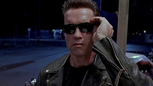 Arnold phong độ trong phần đầu của Kẻ hủy diệt.