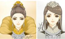 12 cung hoàng đạo với tạo hình thiếu nữ H'Mông