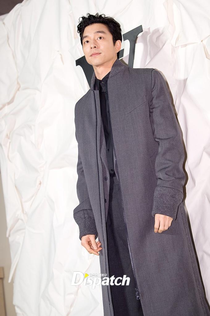 <p> ''Yêu tinh'' Gong Yoo đốn tim fan bằng vẻ lịch lãm.</p>