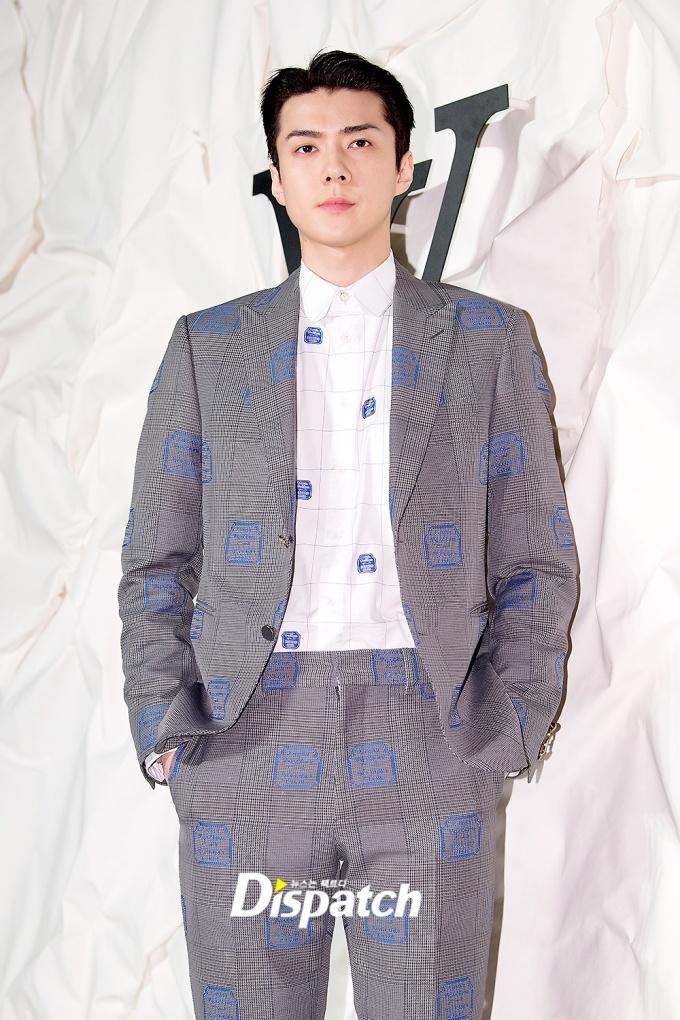<p> Se Hun (EXO) có khuôn mặt hoàn hảo như tượng điêu khắc.</p>