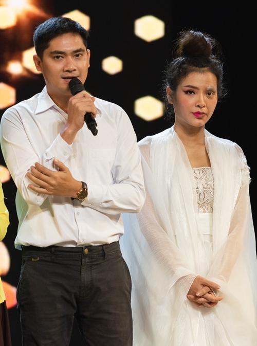 Minh Luân - Phương Trinh Jolie chia sẻ khi rời cuộc thi.