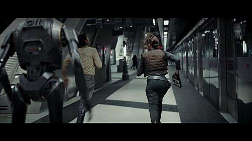 Cảnh quay tại trạm tàu điện ngầm trong phim.
