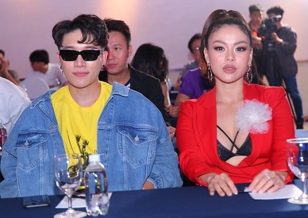 Châu Đăng Khoa và Hải Yến là hai giám khảo của cuộc thi tìm kiếm tài năng.