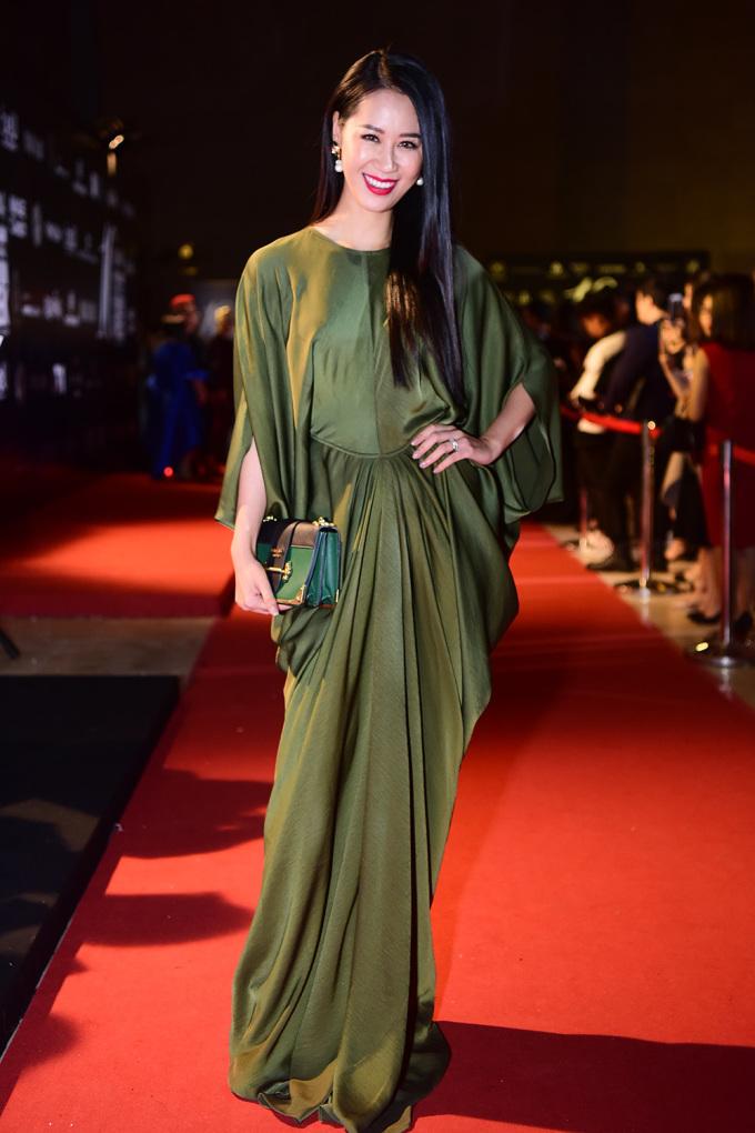 <p> Hoa hậu Quý bà Thế giới 2018 Dương Thùy Linh.</p>