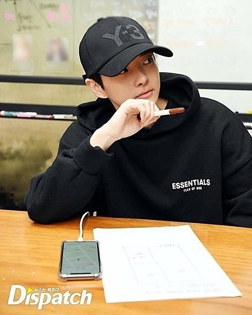 Jung Da Eun đến văn phòng Dispatch để xác nhận thông tin.