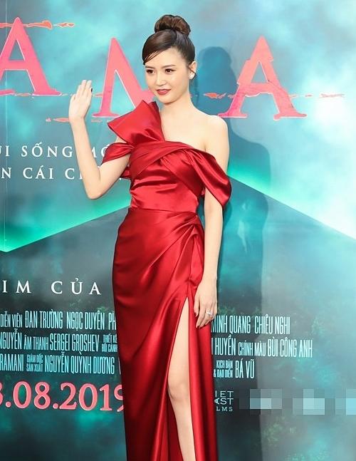 Hồi đầu tháng 8, Ngọc Duyên tái xuất điện ảnh với vai diễn chính trong bộ phim Cha Ma.