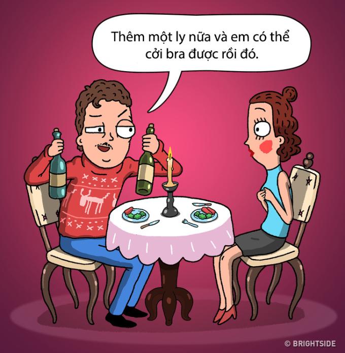 <p> Một kẻ vừa say xỉn vừa biến thái không đáng để các nàng ngồi lại thêm một phút giây nào nữa.</p>