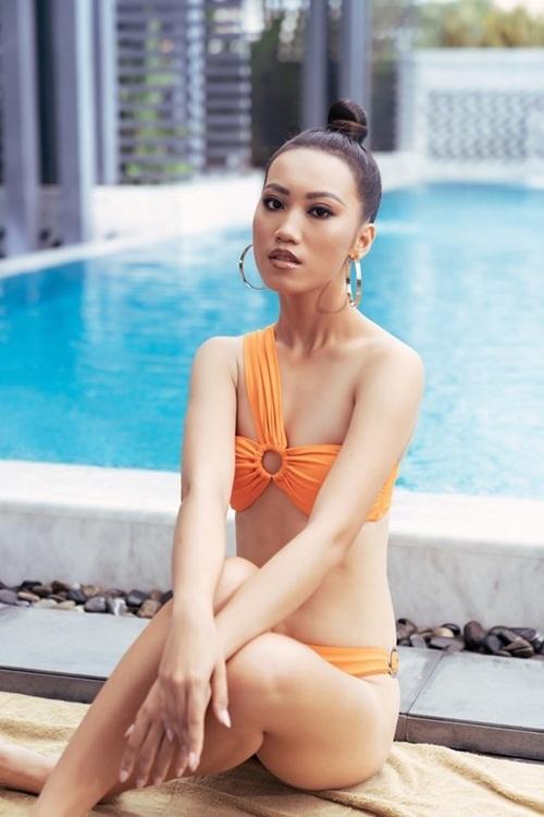 Nguyễn Ngọc Thanh Ngân thuộc nhóm thí sinh trẻ nhất cuộc thi.