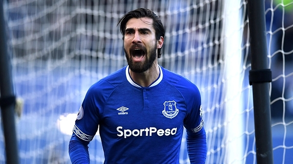 Tiền vệ Andre Gomes.