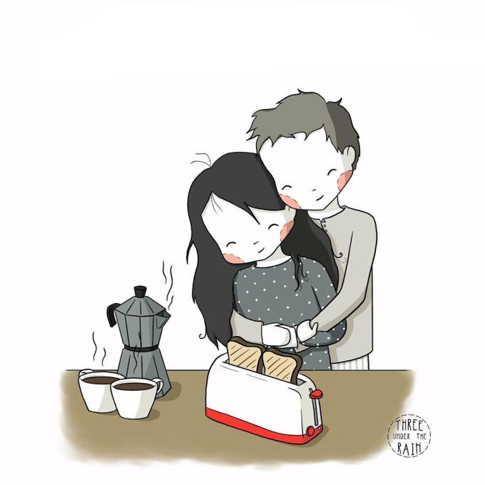 <p> Một tách trà nóng, những chiếc bánh mì nướng và một vòng tay ôm là đủ cứu bạn qua những ngày không khí lạnh tràn về.</p>