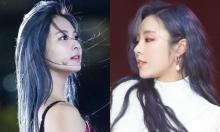 Hai nữ idol khiến fan 'phát cuồng' khi nhuộm tóc xanh navy