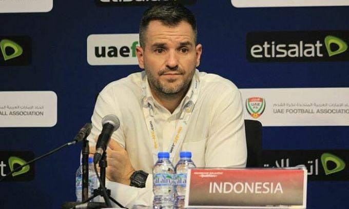 HLV Indonesia bị sa thải sau trận thua Việt Nam