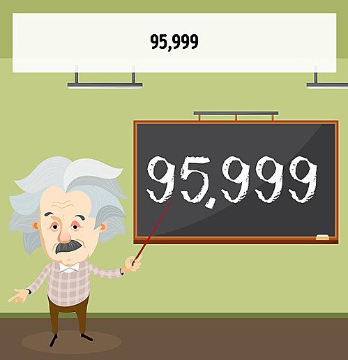 95.999!