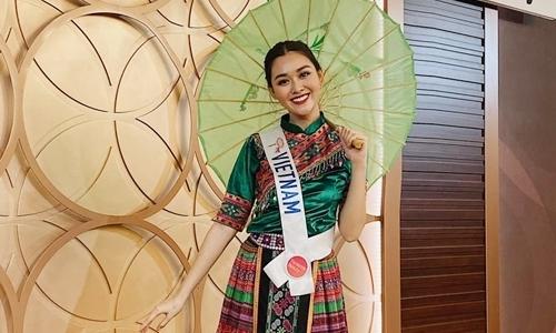 Tường San múa ''Để Mị nói cho mà nghe'' ở Miss International