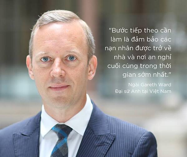 Đại sứ Anh tại Việt Nam, ông Gareth Ward. Ảnh: UK in Vietnam.