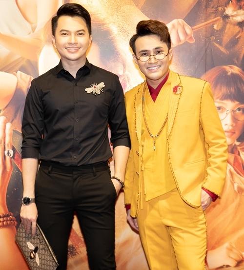 Sao Việt dự ra mắt phim Pháp sư mù - 8