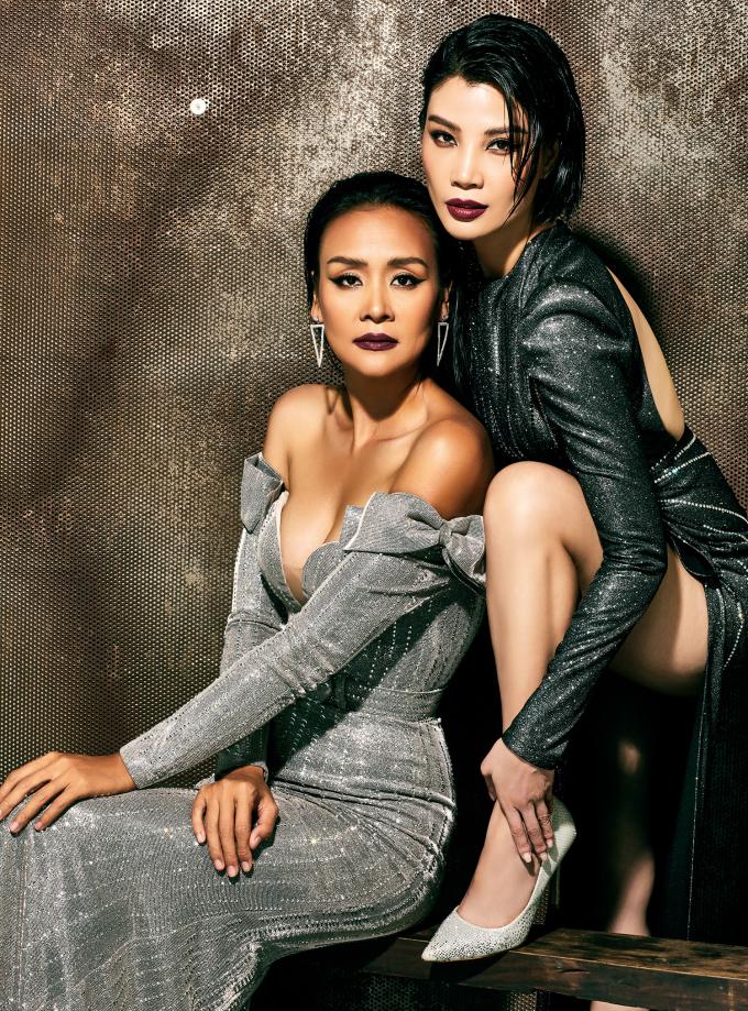 <p> Vũ Cẩm Nhung và Trần Bảo Ngọc là hai người bạn cùng sinh hoạt trong CLB người mẫu Hà Nội những năm 1990.Mới đây, họ tái ngộ trong một bộ ảnh chung.</p>