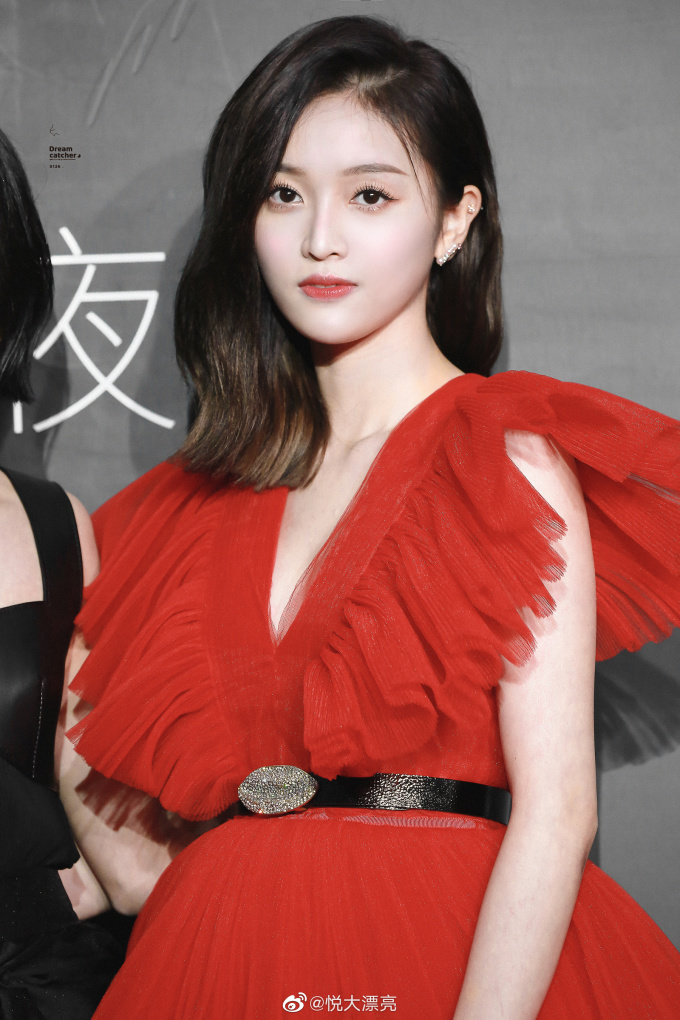 <p> Ngô Tuyên Nghi là thành viên nổi tiếng bậc nhất nhóm Rocket Girls 101 nhờ ngoại hình xinh xắn, vẻ đẹp ngọt ngào.</p>