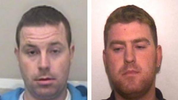 Hai anh em Ronan Hughes và Christopher Hughes. Ảnh: Essex Police.