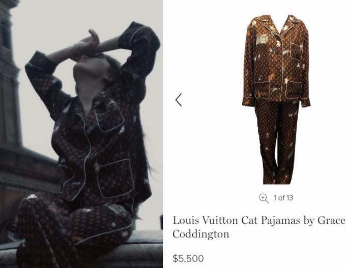 Pijama giá trăm triệu đồng trong MV mới của Bảo Thy.