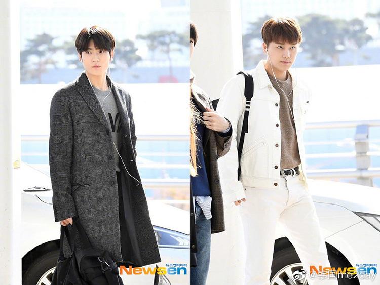2 visual nhà JYP Yuna - Tzuyu đọ nhan sắc đỉnh cao ở sân bay - page 2 - 2