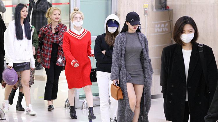 2 visual nhà JYP Yuna - Tzuyu đọ nhan sắc đỉnh cao ở sân bay - 4