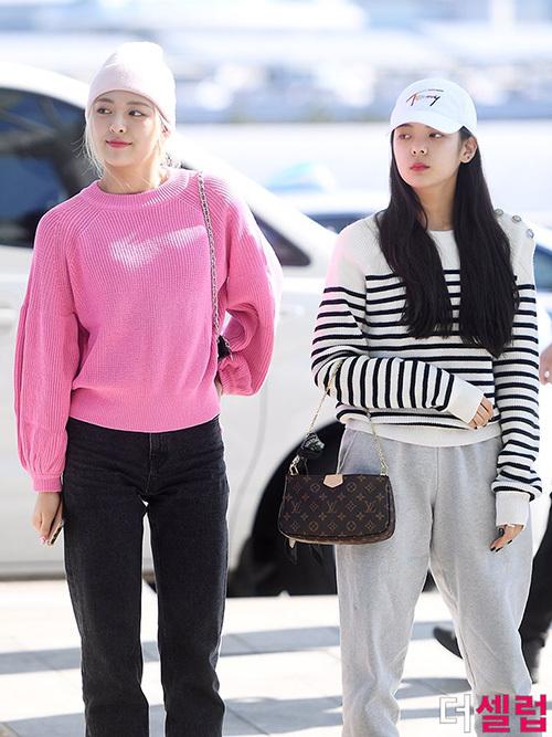 2 visual nhà JYP Yuna - Tzuyu đọ nhan sắc đỉnh cao ở sân bay - 1