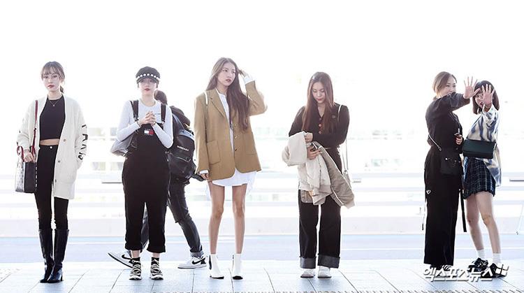 2 visual nhà JYP Yuna - Tzuyu đọ nhan sắc đỉnh cao ở sân bay - page 2