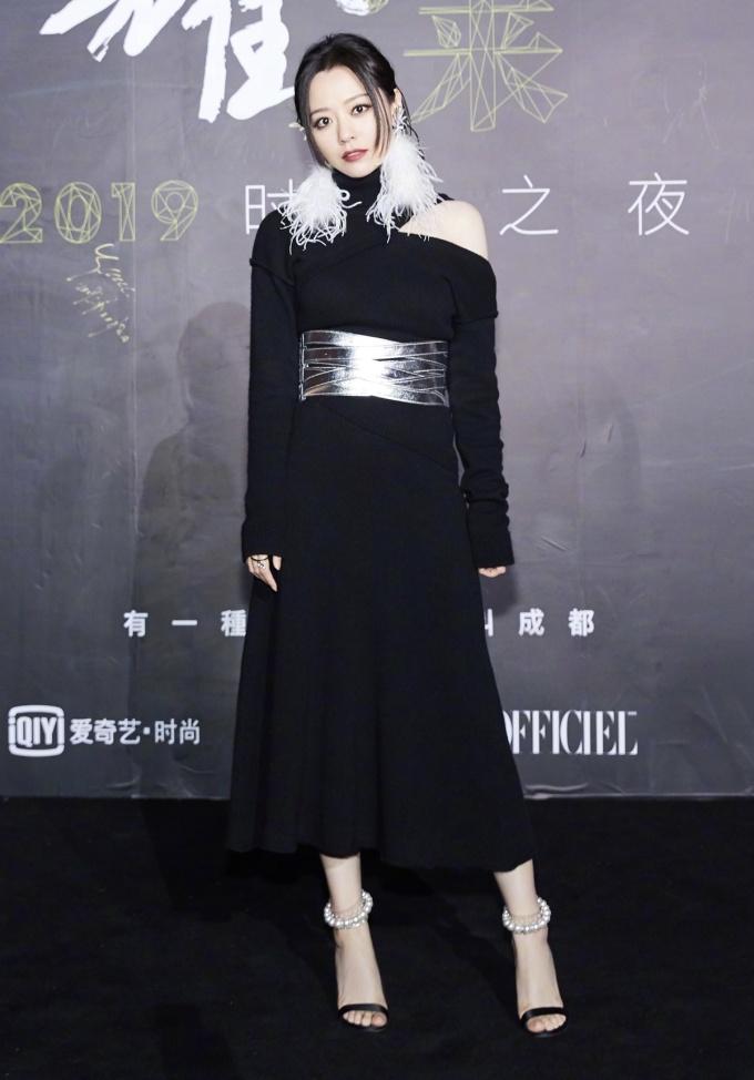 <p> Nữ ca sĩ Trương Lượng Dĩnh.</p>