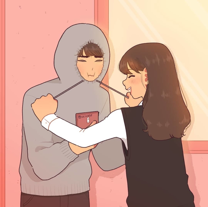 <p> Rồi khi thích nhau thật đấy nhưng chẳng ai dám nói điều gì, cứ im lặng rồi thầm thích nhau vậy thôi... Ngày ấy, thứ tình cảm ngốc xít lại khiến bạn mỉm cười trong vô thức.</p>