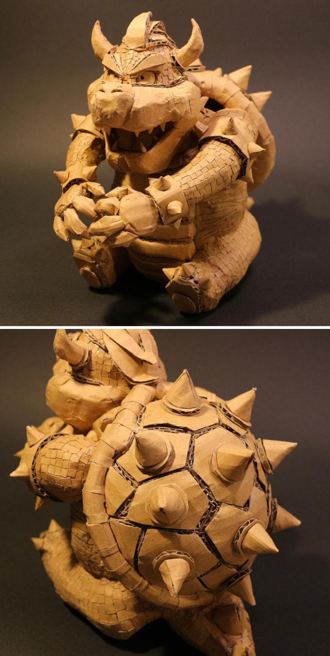 <p> Ohno làm mô hình thu nhỏ của nhiều đồ vật, con vật nhưng vẫn giữ nguyên màu gốc của bìa các-tông. Điều này tạo nên một nét độc đáo và riêng biệt cho sản phẩm của cô gái.</p>