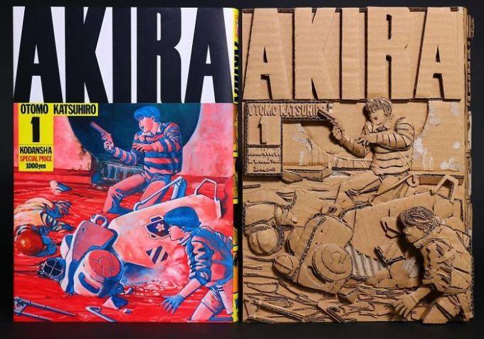 <p> Bìa cuốn sách được làm từ hộp các-tông trông sống động hơn hình ảnh 2D trên quyển sách màu.</p>