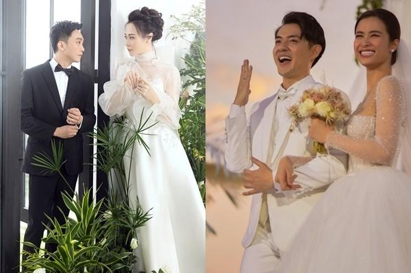 Showbiz Việt năm 2019 có hai đám cưới xa hoa, được chuẩn bị suốtnhiều tháng: Đông Nhi - Ông Cao Thắng, Đàm Thu Trang - Cường Đô La.