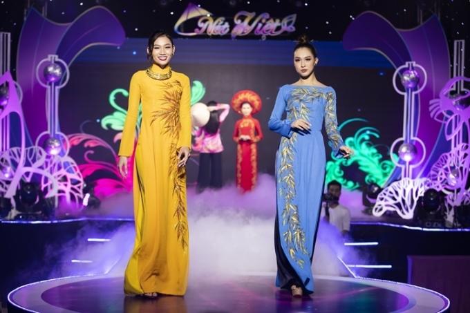 Lê Âu Ngân Anh diễn thời trang mang cảm hứng Tây Bắc - 8