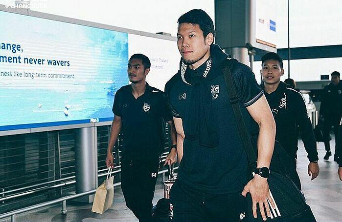 Thủ thành Kawin Thamsatchanan đang thi đấu cho CLB của Bỉ.