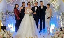 Mie Nguyễn hạnh phúc trong ngày cưới