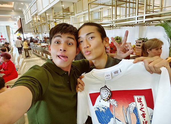 Jun Phạm được BB Trần tặng quà sinh nhật muộn.