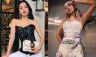 Chi Pu - Quỳnh Anh Shyn nhận khen chê khi cùng diện mốt corset