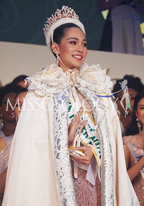 Tân Hoa hậu Quốc tế 2019.