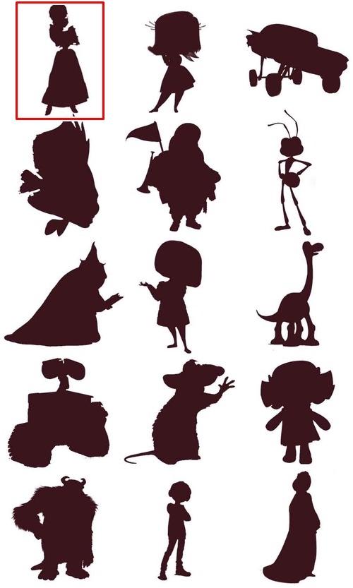 Bạn đích thị là fan cứng Disney nếu nhận diện được những nhân vật này qua hình bóng! - page 13