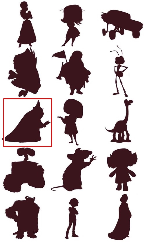 Bạn đích thị là fan cứng Disney nếu nhận diện được những nhân vật này qua hình bóng! - page 8