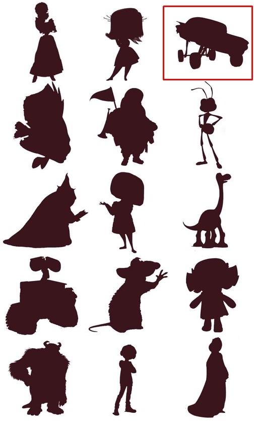 Bạn đích thị là fan cứng Disney nếu nhận diện được những nhân vật này qua hình bóng! - page 9