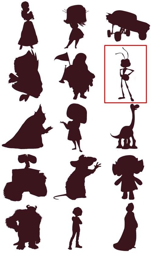 Bạn đích thị là fan cứng Disney nếu nhận diện được những nhân vật này qua hình bóng! - page 12