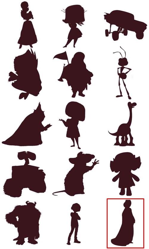Bạn đích thị là fan cứng Disney nếu nhận diện được những nhân vật này qua hình bóng! - page 14