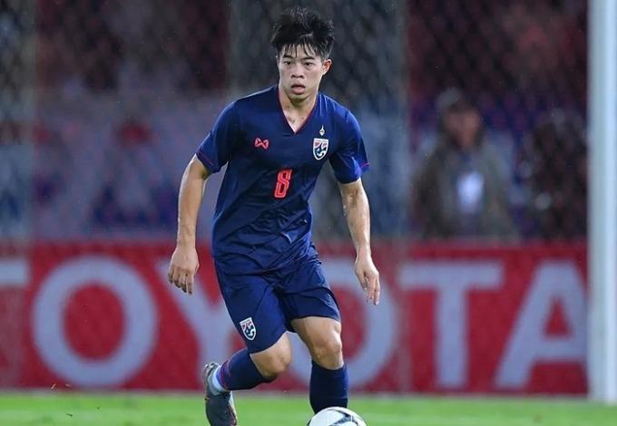 Cầu thủ trẻ tuổi của Thái Lan, Ekanit Panya. Ảnh: Fox Sports.