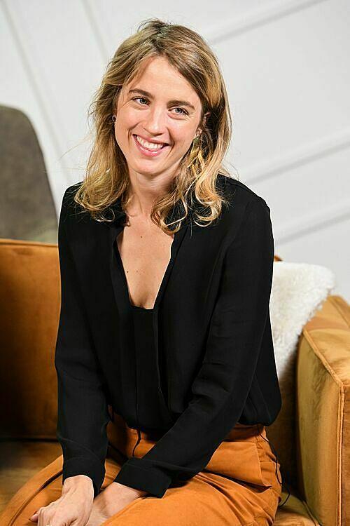 Diễn viên Adele Haenel.