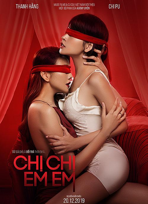 Poster táo bạo của phim.