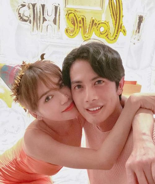 Sĩ Thanh chúc mừng sinh nhật bạn trai Huỳnh Phương.