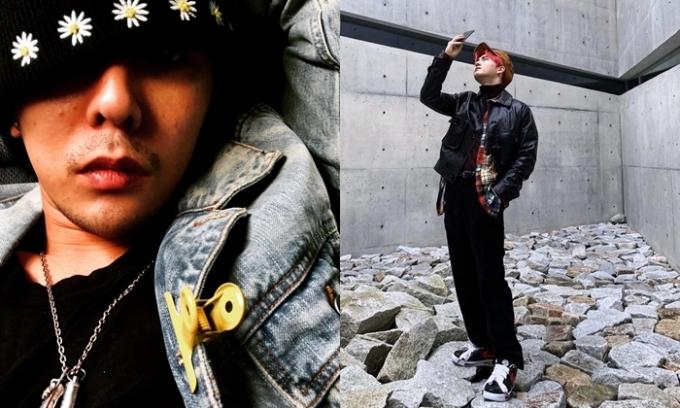 Sao Hàn mê mẩn ''siêu phẩm'' kết hợp giữa G-Dragon và Nike